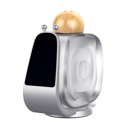 Suporte de montagem de carro de perfume Suporte de telefone de carro de forma de caracol Alloy de alumínio Stand de telefone magnético para Tableta de telefone inteligente