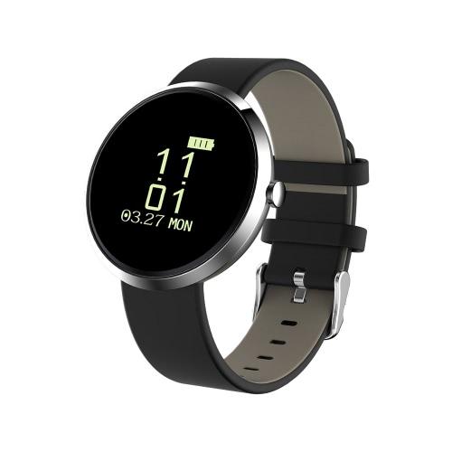 """Q90 Heart-rate Smart BT4.0 Sport Wristband 0.96 """"OLED Chamadas Notificação Actividade Acompanhamento Sleep Monitor para iPhone 7 Plus Samsung S8 + iOS8.0 Android4.4"""