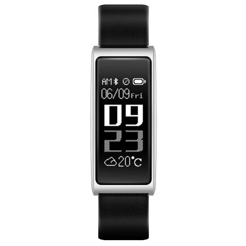 C9 Smart Band Exibição de 0,96 polegadas Rastreador de esportes Relógio cardíaco Monitor de sono Lembrete de mensagem de identificação do chamador Bracelet inteligente anti-perdido