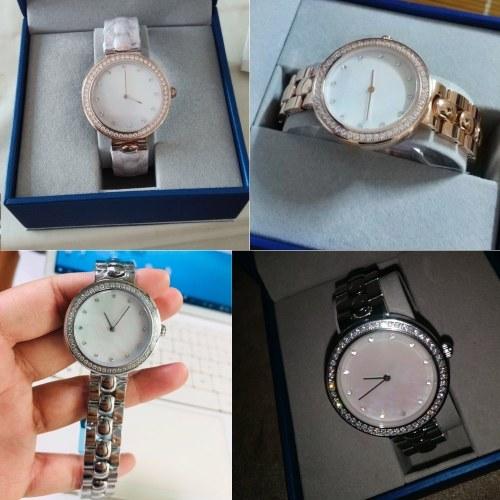 TOMTOP / Xiaomi TwentySeventeen Crystal Quartz Wrist Watch for Women