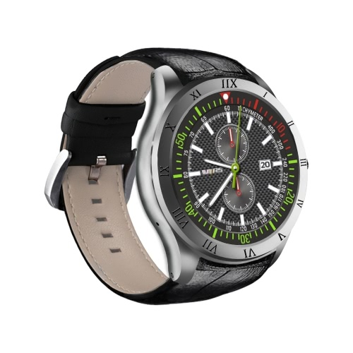 Q5 Heart Rate Smart BT Sport GPS 3G / 2G Watch Phone Touch Screen 512MB RAM 8GB ROM MTK6580 Quadcore Android 5.1 Camera Call Notificação Pedômetro Alarme Metal Frame MP3 MP4 WiFi
