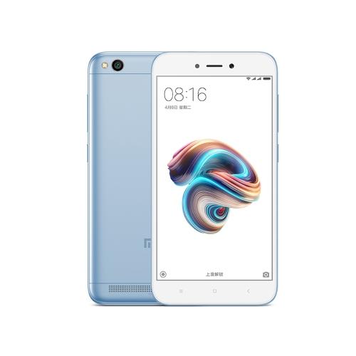 Xiaomi Redmi 5A 5 pouces HD Display Snapdragon 425 Quad Core 2Go + 16Go 4G Mobile uniquement 91,66 €