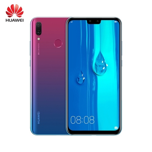 Global Version 2019 HUAWEI Y9 Mobile Phone 6.5inch FHD+ 4GB RAM 64GB ROM