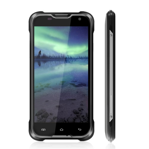 Blackview BV5000 IP67 Impermeável Smartphone 4G LTE-FDD 3 G WCDMA Dustproof Shockproof Rugged exterior Drfy 5.1 Android OS Quad Core MTK6735P 5.0 ″ IPS tela 1.0 GHz 64 bits 2GB de RAM 16GB 5MP ROM 13MP Dual câmeras OTG