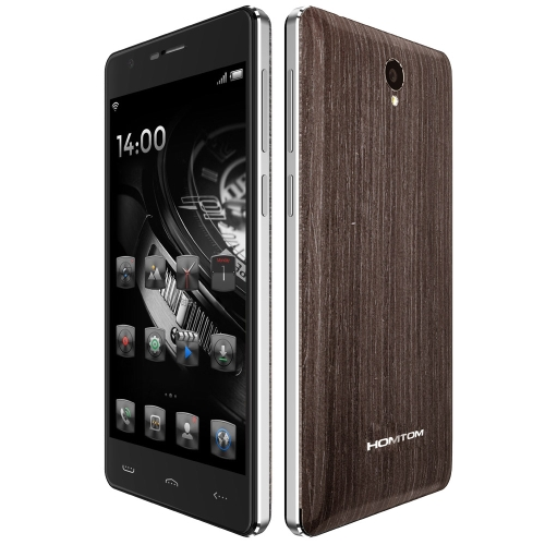 DOOGEE HOMTOM HT5 4G FDD-LTE MTK6735P Quad Core Smartphone 2.5D Curved 5.0