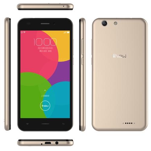 iNew U5 4G FDD-LTE TDD-LTE 3G WCDMA Smartphone Android 5.1 OS Quad Core MTK6735 1.0GHz 5.0