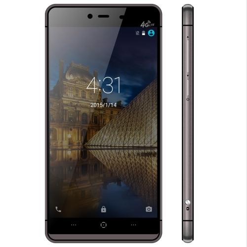 元 Kingzone K2 5.0 インチ 2.5 D タッチ ID 4 G スマート フォン Android 5.1 MT6753 64 ビット オクタ コア 1.3 GHz 3 GB の RAM の 16 GB ROM 8.0MP 13.0MP カメラ