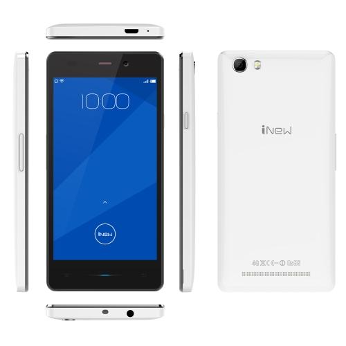 iNew U3 4G FDD-LTE 3G WCDMA 2G GSM MTK6735P 64-bit Quad Core Smartphone 4.5