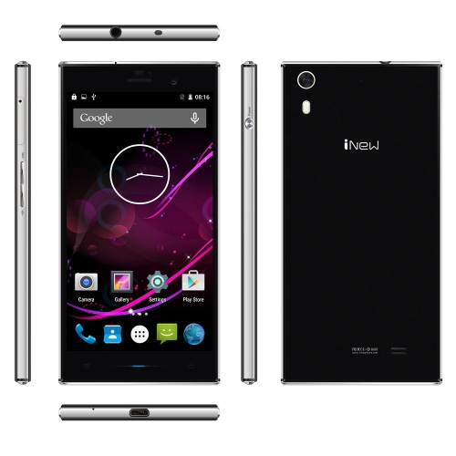 iNew L3 4G FDD-LTE 3G WCDMA Smartphone Android 5.0 OS Quad Core MTK6735 64 bits 1.3GHz 5.0
