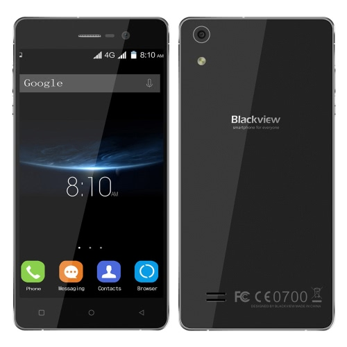 Blackview Omega Pro 4G FDD-LTE 3G WCDMA 2G GSM MTK6753 64-bit Octa Core Smartphone 5.0