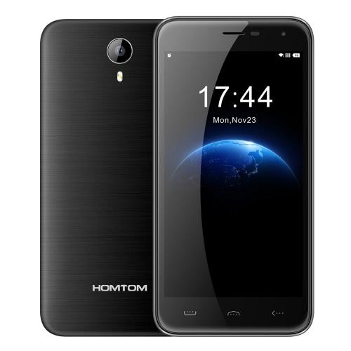 HOMTOM HT3 3G WCDMA 2G GSM MTK6580A Quad-Core Smartphone 5.0 ″ 2,5 D HD 1280 * 720 Pixels de tela Android 5.1 1 + G 8G 2MP 5MP câmeras duplas 7,5 mm ultra-slim inteligente gesto
