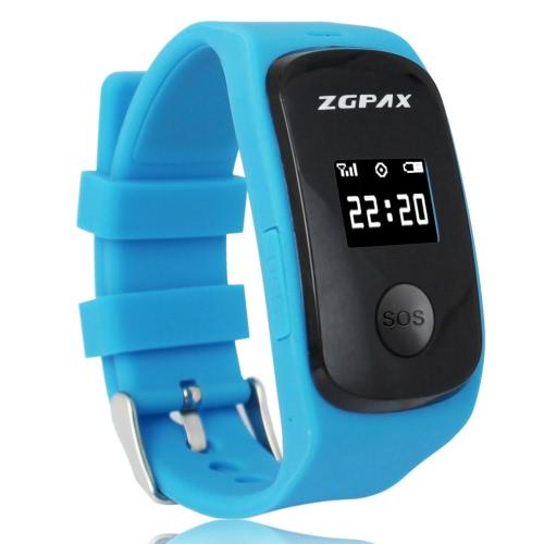 Original ZGPAX S22 SOS Tracker Watch Phone 0.66