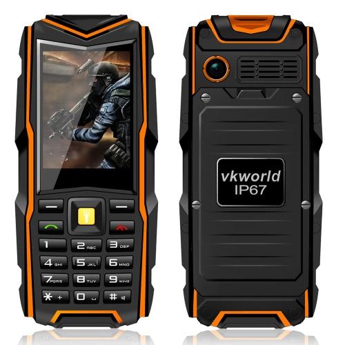 vkworld stone v3 Phone Fashionable Outdoor IP67 Waterproof Dustproof Drop-resistant Shock-resistant 2G GSM SC6531CA 2.4
