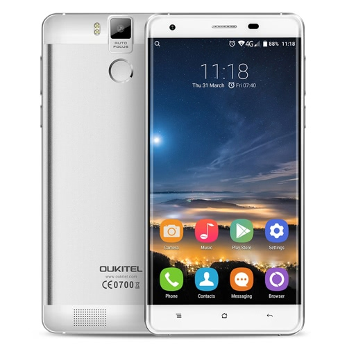 oukitel k6000 pro 4g android 6.0 smartphone 5.5