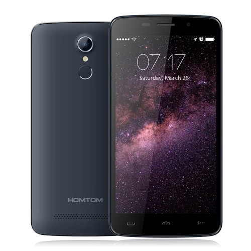 HOMTOM HT17 Smartphone 4G FDD-LTE 3G WCDMA Android 6.0 Marshmallow OS Quad Core MTK6737 5.5