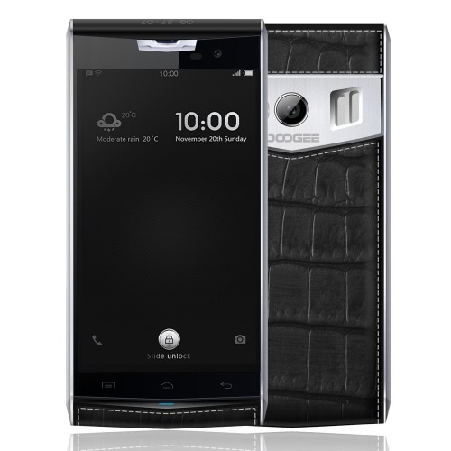 Original 4.7inch Doogee T3 4G LTE FDD Smartphone HD Dual Screen 1280 * 720px MTK6753 Octa apoio central Android 6.0 3G RAM 32G ROM 13.0MP câmera 3200mAh Bateria GPS Hotknot OTA OTG Celular