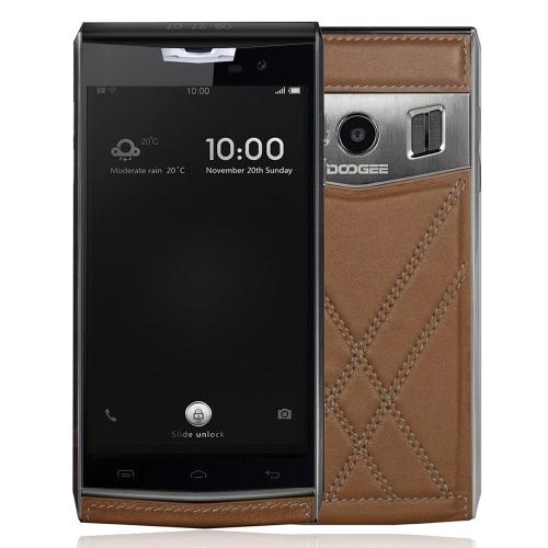Original DOOGEE T3 4G FDD LTE Smartphone 4.7inch HD Dual Screen 1280*720px MTK6753 Octa Core Android 6.0 3G RAM 32G ROM 13.0MP Camera 3200mAh Battery Support GPS Hotknot OTA OTG Cellphone