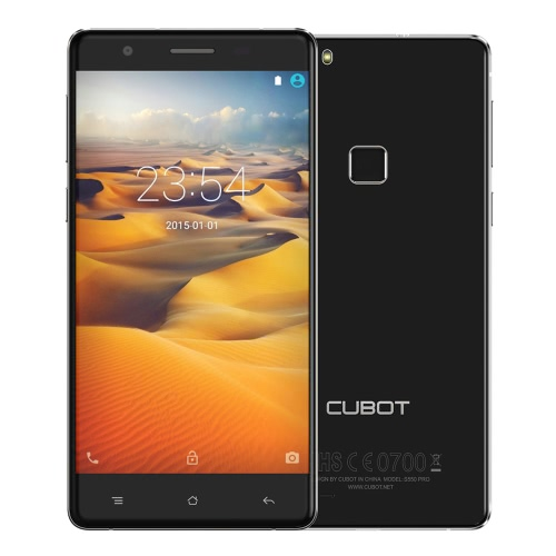 CUBOT S550 Pro 4G FDD-LTE 3G WCDMA Smartphone Android 5.1 OS MTK6735 64bit Quad Core 5.5