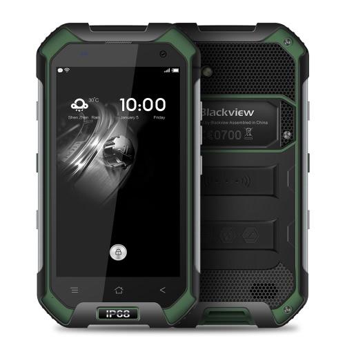 Blackview BV6000s 4G  Tri-proof Smartphone 4.7inch HD 720*1280pixel Display 64Bit MTK6737T Quad-core 2GB+16GB IP68 Waterproof 8.0MP Camera Android 6.0 OS 4200mAh NFC