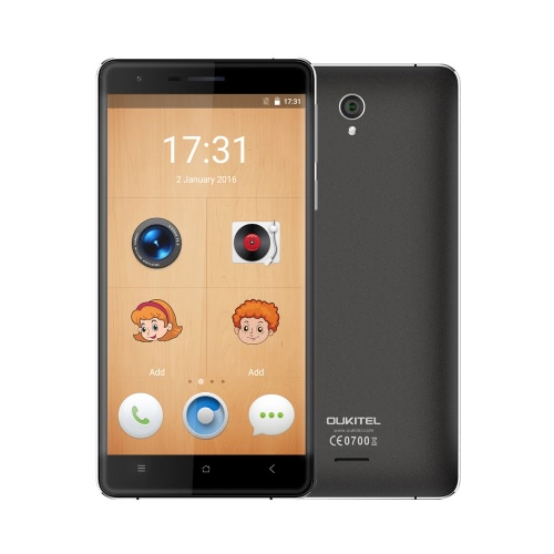 OUKITEL K4000 Lite Dual-UI 4G FDD-LTE MTK6735P Quad Core Smartphone 5.0 Inches HD 960*540pixels Touch Screen Metal Body Android 5.1 2G+16G 5MP 13MP Dual Cameras Smart Gestures OTG OTA