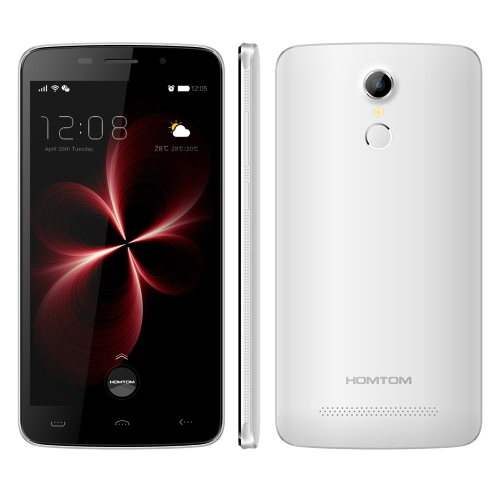 HOMTOM HT17 Pro Smartphone 4G FDD-LTE 3G WCDMA Android 6.0 Marshmallow OS Quad Core MTK6737 5.5