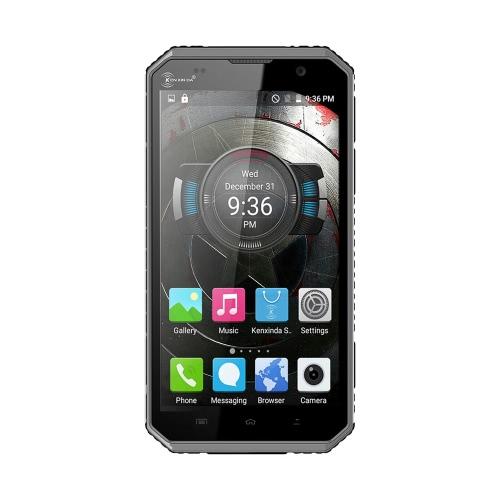 Kenxinda W9 IP68防水スマートフォン4G FDD-LTE、3G WCDMA防塵耐衝撃堅牢な屋外Drfyアンドロイド5.1 OSオクタコアMTK6753 6.0」IPSスクリーン1.3GHzの2ギガバイトのRAM 16ギガバイトROM 5MP 8MPデュアルカメラ