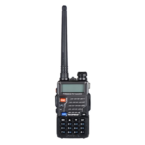 Rádio BAOFENG UV-5RE Interphone Walkie Talkie Two Way FM Transceptor Dual-band DTMF codificado VOX Alarm LED Lanterna Key Lock