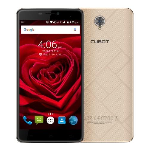 Cubot Original Max 4G FDD-LTE Smartphone 6.0inch IPS HD de tela 720 * 1280px MTK6753A 64-bit 1.3GHz Octa-core telefone 3GB RAM 32GB ROM Android 6.0 OS 13.0MP câmera 4100mAh bateria grande OTG WiFi HotKnot GPS