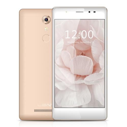 LEAGOO T1 Smartphone 4G MTK6737 1.3GHz 2.5D 5.0 Inches HD 1280 * 720 Pixels Screen Android 6.0 2G+16G 8MP+13MP Dual Cameras 7.5mm Ultra-thin Metal Body 0.19s Fingerprint Unlock Smart Gesture