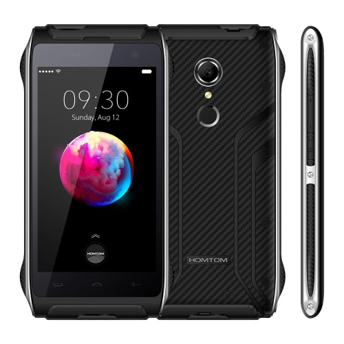 HOMTOM HT20 IP68 impermeabile Smartphone 4G FDD-LTE 3G WCDMA Shockproof antipolvere robusta all'aperto Drfy Android 6.0 OS Quad Core MT6737 4,7
