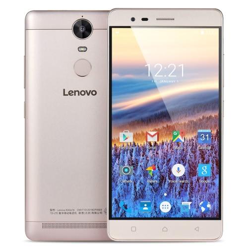 Lenovo K5 Note Smartphone 4G-LTE MTK6755m Helio P10 1.8GHz 64-bit Octa Core 5.5 Inches FHD 1920*1080 IPS 3G+32G 8MP+13MP Camera Fingerprint Ultrathin Metal Body 3500mAh Dual-band WiFi HiFi Music