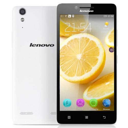 Origina Lenovo K30-W 4G TD-LTE Smartphone 5.0inch IPS HD Screen Display 1280*720pixel Snapdragon 410 MSM8916 Quad Core Mobile Phone 1GB RAM 16GB ROM Android 4.4 OS 8.0MP Camera 2300mAh Battery Dual Sim Card Cellphone