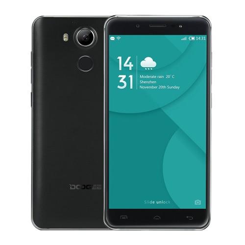DOOGEE F7指紋スマートフォン4G FDD-LTE、3G WCDMA MTK6797ヘリオX20 64ビットデカコア5.5インチのFHD 1920×1080ピクセルは、Android 6.0 3ギガバイトのRAM + 32ギガバイトROM 5MP + 13メガピクセルのデュアルカメラC型スマートジェスチャーHotKnot 3400mAhのHiFi 4Kビデオスクリーン