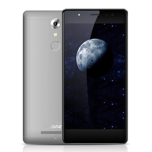 LEAGOO T1 Além disso Smartphone 4G FDD-LTE 3G WCDMA MTK6737 1.3GHz 2.5D 5,5 polegadas HD 1280 * 720 pixels da tela Android 6.0 3G + 16G + 13MP 13MP Câmeras dupla 7,5 milímetros ultra-fino de metal Corpo 0.19s Fingerprint Desbloquear Smart Gesture