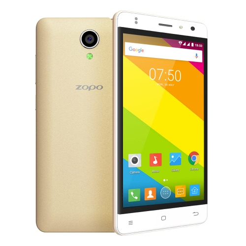 ZOPO C2 Smartphone 3G WCDMA Android 6.0 OS Quad Core MTK6580 5.0