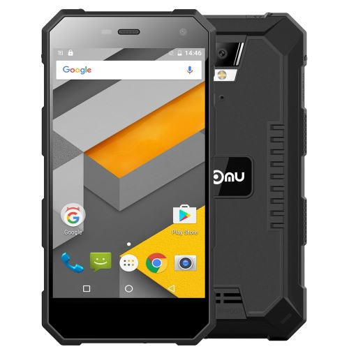 NOMU S10 IP68 étanche Smartphone 4G LTE 3G WCDMA antipoussière antichoc Rugged Outdoor Drfy Android 6.0 OS Quad Core MTK6737 5.0