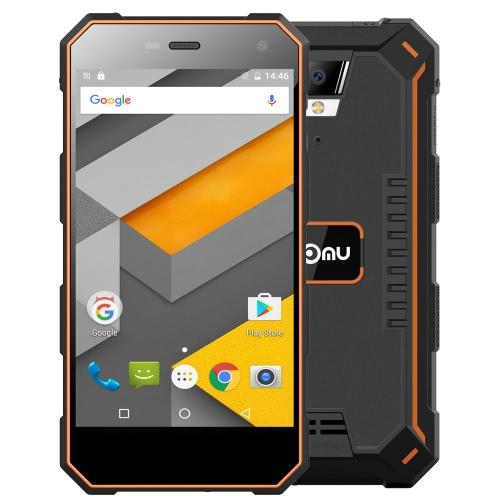 NOMU S10 IP68 Waterproof Smartphone 4G LTE 3G WCDMA Dustproof à prova de choque robusto exterior Drfy Android 6.0 OS Quad Core MTK6737 5.0