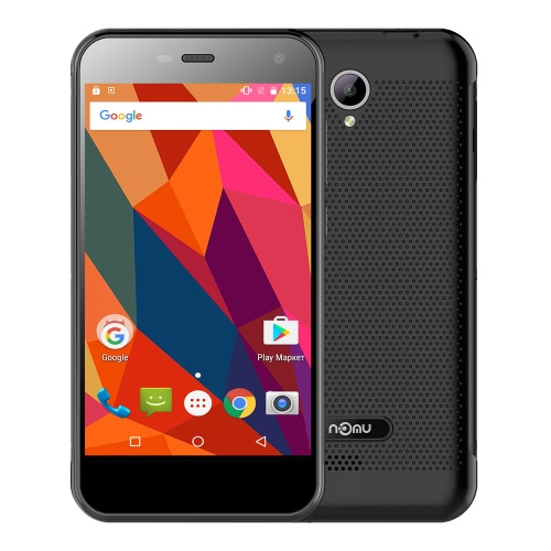 Nomu S20 Tri-proof Smartphone 4G LTE Phone 5.0inch IPS Screen 1280*720px MTK6737T 64bit Quad-core 1.5GHz CPU 3GB RAM 32GB ROM Android 6.0 OS 13.0MP Camera 3000mAh Big Battery Dual Standby IP68 Waterproof HiFi Ultra Thin Phone