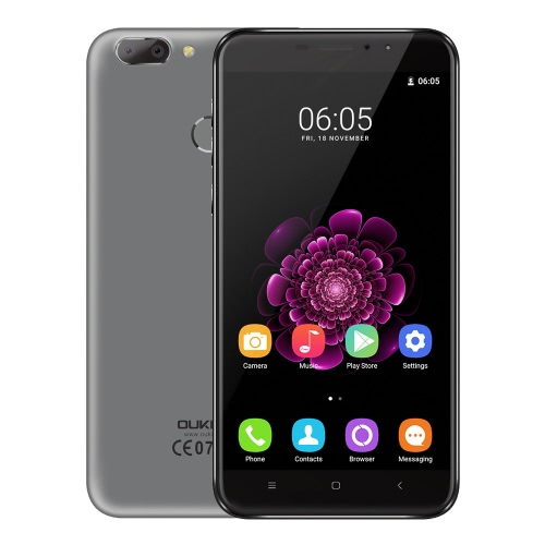 OUKITEL U20 Plus Smart Phone 4G Phone Dual Lens Back Camera