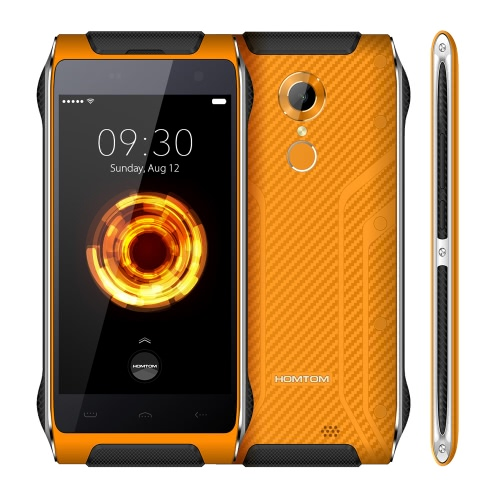 HOMTOM HT20 Pro Outdoor Ragged resistente Smartphone IP68 impermeável resistente Gota Dustproof resistente ao choque 4G-LTE MTK6753 1.3GHz 64-bit Octa Núcleo 4,7 polegadas HD 1280 * 720P 3G + 32G 8MP + 16MP Câmara 3500mAh WiFi inteligente OTG Gesture