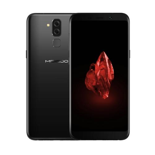 S80 Smart Phone 6.1 polegadas Frente e verso Quadric Curved Glass Anion Metalized Border Post Fingerprint Identification