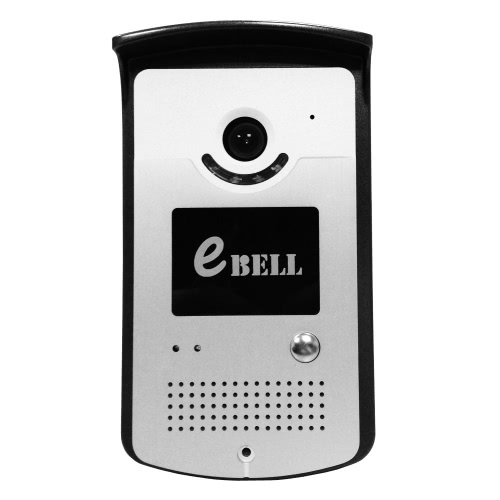 EBELL ATZ-DBV03P-433MHZ Smart Door Bell with Wireless Indoor Reminding Device 433MHz Indoor Chime 720P Full Duplex Audio HD Remote-control Home Security Smart IP WiFi Video Doorbell Support 64GB TF Card for iPhone SE Android 4.0 IOS 7.0 or Above