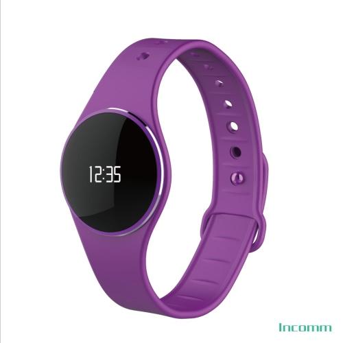 InComm L16 inteligente Wristfit Sport pulseira Fitness actividade Tracker pedômetro dormir Monitor chamar lembrete completo toque Smartwatch pulseira IP67 Impermeável Bluetooth 4.0 ultrafino para iOS Android APP de controle