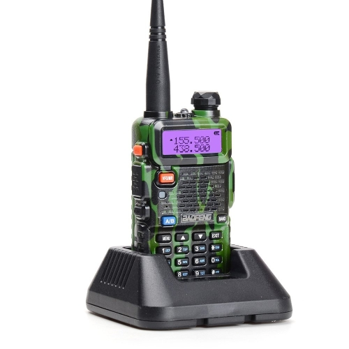 BAOFENG UV-5R Interphone Radio FM Transceiver Walkie Talkie Two Way