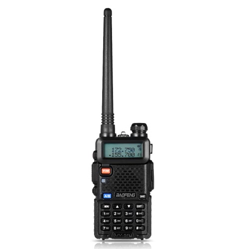 BAOFENG UV-5R Interphone Rádio FM Transceptor Walkie Talkie Two Way