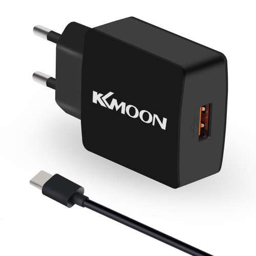 KKmoon K6 Charger Adapter Charger Adapter Adapter QC3.0 + Kabel Micro USB do telefonów komórkowych Tablet PC