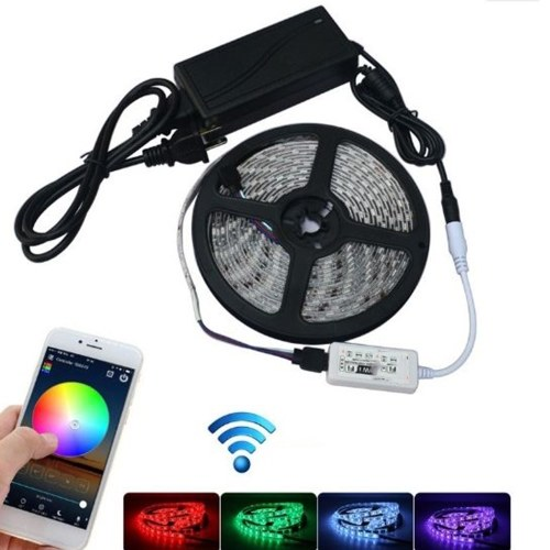 10M 5050 RGB WIFI LED Soft Light Strip