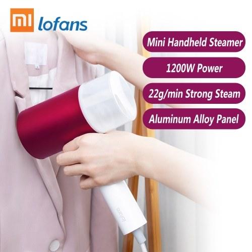 Xiaomi Lofans Handheld Dampfer Eisen Mini Tuch Dampfbügelbürste Haushalt Tragbare Garment Steamer Reise Kleidung Faltenentferner Luftbefeuchter Gesichtsdampfer 220 V