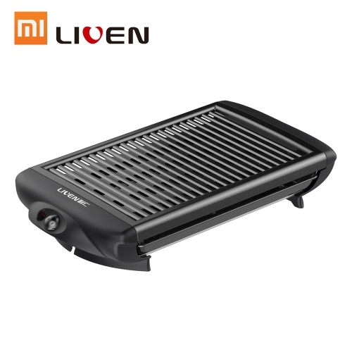 Bandeja eléctrica para hornear Xiaomi Mijia Desmontable Lavable Tubo de calentamiento en forma de U doble Parrilla antiadherente para hornear para el hogar Fiesta de barbacoa al aire libre 220V