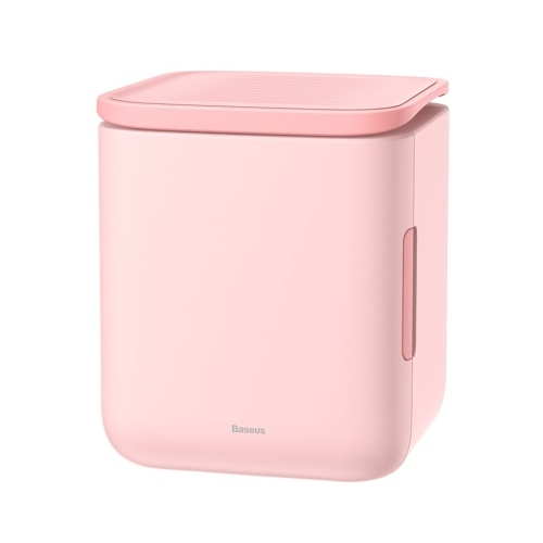 Baseus Mini Fridge Electric Cooler and Warmer 6 Liter Skincare Freezer with Temperature Control Portable Thermoelectric System Refrigerator for Skincare/Foods/Medications/Home/Travel 100-240V
